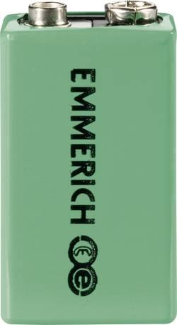 Accu bloc 9 V NiMH 9.6 V Emmerich 255051 200 mAh 1 pc(s)