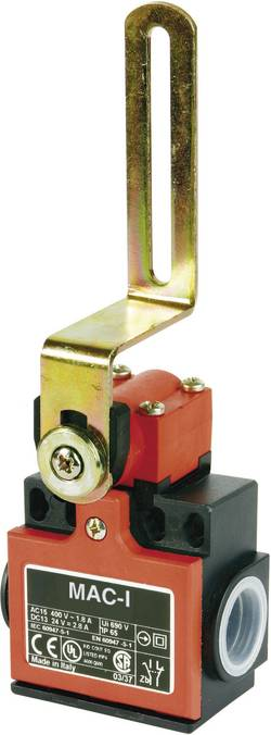 Interrupteur de porte Panasonic SL55Z61X11 400 V/AC 10 A levier pivotant à galet à rappel IP65 1 pc(s)