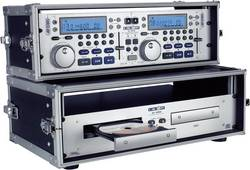 Rack 19 pouces 3 U CD-Player-Case aluminium