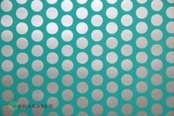 Papier pour table traçante Oracover Easyplot Fun 1 91-017-091-010 (L x l) 10 m x 38 cm turquoise-argent