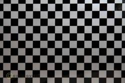 Papier pour table traçante Oracover Easyplot Fun 4 97-091-071-010 (L x l) 10 m x 20 cm argent-noir