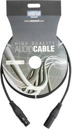 Câble DMX XLR mâle/ femelle 1,5 m noir LD Systems