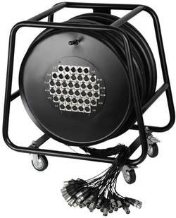 Enrouleur de câble multicore AH Cables K40C50D Nombre d'entrées: 32 x Nbr. de sorties: 8 x