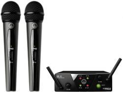 Set microphone sans fil AKG WMS40MiniDual