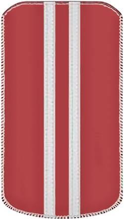 Housse Katinkas Stripe Adapté pour: iPhone 4, iPhone 4s, rouge, blanc