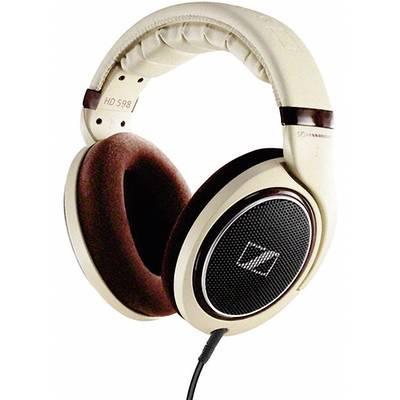 casque filaire circum aural sennheiser hd 598 beige marron sur le site internet conrad 351816. Black Bedroom Furniture Sets. Home Design Ideas