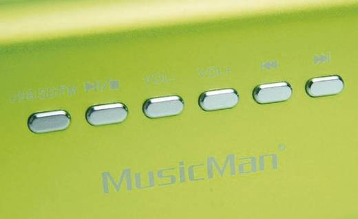 Enceinte portable 6 w technaxx musicman ma lautsprecher vert - Code promo conrad frais de port gratuit ...