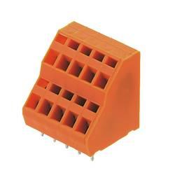 Bornier à 2 étages Weidmüller LM2NZF 5.08/14/135 3.5SN OR BX 1764860000 1.50 mm² Nombre total de pôles 14 orange 20 pc(s