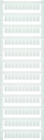 Repère de bornes MultiCard WS 10/6 MC MIDD. NEUTR. 1818400000 blanc Weid