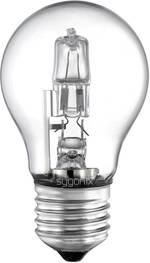 Ampoule halogène Eco Sygonix 28922D E27 42 W=60 W blanc chaud forme de poire à intensité variable 1 pc(s)