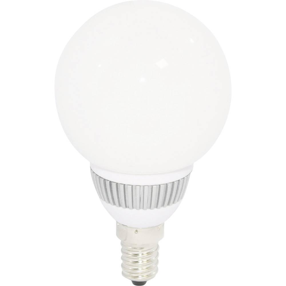 ampoule led unicolore e14 8632c34b 2 5 w blanc froid 6000 k forme globe 1 pc s. Black Bedroom Furniture Sets. Home Design Ideas