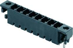 Boîtier mâle (platine) série BC/SC Weidmüller SC-SMT 3.81/10/180LF 1.5SN BK BX 1864150000 Nbr total de pôles 10 Pas: 3.8