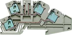 Borne à étage d'installation Weidmüller PDL 4/TR/DU O TNHE 1899210000 50 pc(s)