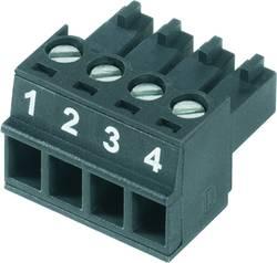 Boîtier pour contacts femelles série BC/SC Weidmüller BCZ 3.81/14/180 SN BK BX 1899480000 Nbr total de pôles 14 Pas: 3.8
