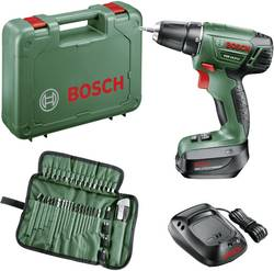 Perceuse-visseuse sans fil Bosch Home and Garden 060395430F 14.4 V 1.5 Ah Li-Ion + batterie, + accessoires, + mallette