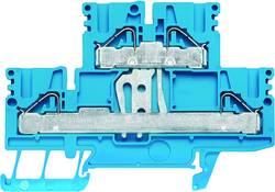 Bloc de jonction double étage Weidmüller PDK 2.5/4V BL 1918680000 50 pc(s)