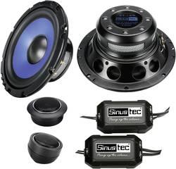 Set de haut-parleurs 2 voies à encastrer 300 W Sinustec ST-165