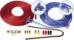 Set de connexion pour ampli HiFi auto Sinustec BCS-1600