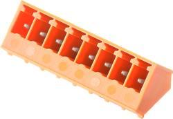 Boîtier mâle (platine) série BC/SC Weidmüller SC 3.81/07/135G 3.2SN GN BX 1976090000 Nbr total de pôles 7 Pas: 3.81 mm 5