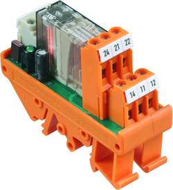 Interface relais Weidmüller RS30 24VDC 1U LD GE 8615320000 10 pc(s)