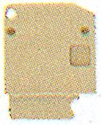 Flasque de fermeture Weidmüller AP KSKM 9509630000 20 pc(s)
