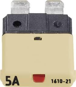 Disjoncteur pour fusible plat standard 5 A 1610 CE1610-21-5A beige 1 pc(s)