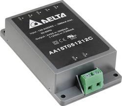Alimentation CA/CC fermée Delta Electronics AA15S1200C 12 V 1.25 A 15 W