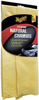 Chamois naturel en cuir Premium Meguiars X2110