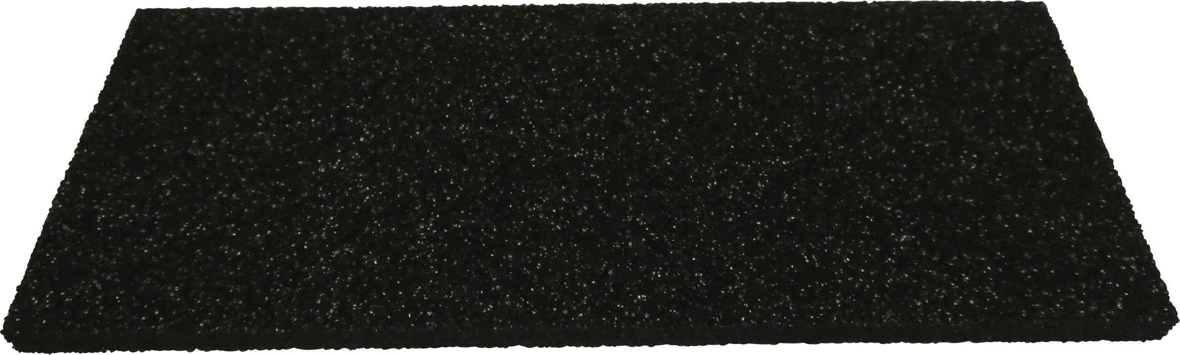 Mousse antistatique Wolfgang Warmbier 4550.06.0300 300 x 300 x 6 mm noir 1 pc s L x l x h