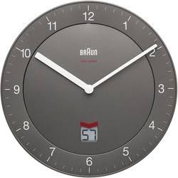 Horloge murale radiopiloté(e) Braun 66040 gris