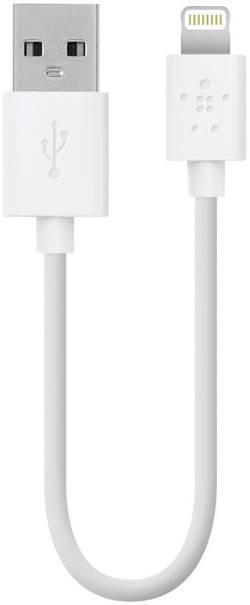 Câble de données/Câble de charge iPad/iPhone/iPod Belkin - [1x USB 2.0 type A mâle - 1x Dock Apple mâle Lig
