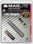 Lampe porte-clés MagLite Solitaure, titane-gris