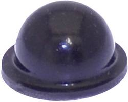 Pied d'appareil TOOLCRAFT PD2055SW autocollant, rond noir (Ø x h) 9.6 mm x 5.4 mm 1 pc(s)