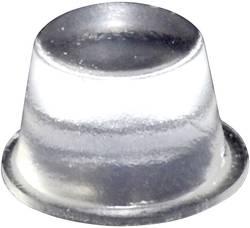 Pied d'appareil TOOLCRAFT PD2164C autocollant, rond transparent (Ø x h) 16.5 mm x 10.2 mm 1 pc(s)