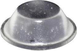 Pied d'appareil TOOLCRAFT PD2019C autocollant, rond transparent (Ø x h) 19 mm x 6 mm 1 pc(s)