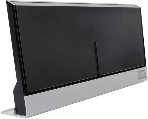 Antenne plate DVB-T/T2 active One For All SV 9385 pour l\'intérieur 47 dB