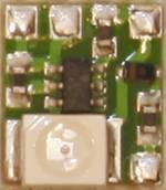 Éclairage de poste de conduite TAMS Elektronik 53-00110-02 jaune