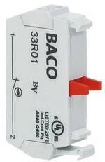 Élément de contact BACO BA33R01 1 NF (R) à rappel 600 V 1 pc(s)
