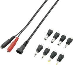 Jeu d'adaptateurs basse tension avec x2 adaptateur Jack et x6 adaptateur basse tension VOLTCRAFT F04A2-8XC 93027c45 9 pc