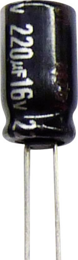 Condensateur électrolytique sortie radiale 47 µF 63 V Panasonic ECA1JHG470B (Ø x h) 6.3 mm x 11.2 mm 20 % Pas: 5 mm 1 p