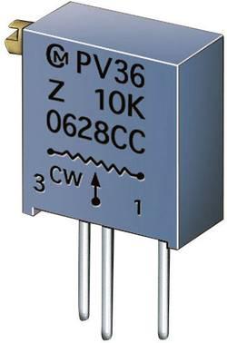Trimmer Cermet 20 kΩ Murata PV36Z203C01B00 réglage horizontal 25 tours linéaire 0.5 W 1 pc(s)