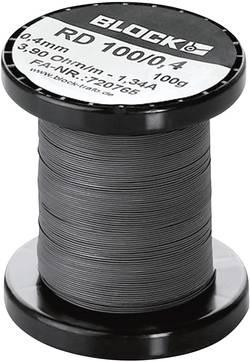 Fil résistif Block RD 100/0,8 0.975 Ω/m 22 m