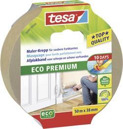 Bande de masquage tesa® Eco Premium tesa 56461-00 marron (L x l) 50 m x 38 mm caoutchouc 1 rouleau(x)