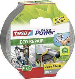 Ruban adhésif tissé tesa® Extra Power ECOLOGO tesa 56432-02 gris (L x l) 20 m x 38 mm caoutchouc 1 rouleau(x)