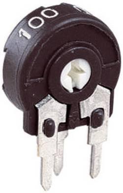 Trimmer 25 kΩ Piher PT 10 LH 25K réglage horizontal miniature linéaire 0.15 W 1 pc(s)