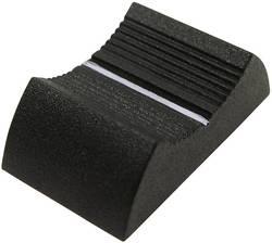 Tête de bouton à glissière Cliff CP3356 gris (L x l x h) 27 x 16 x 7 mm 1 pc(s)