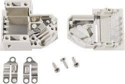 Capot SUB-D 9 pôles TE Connectivity 1393738-1 matière plastique 45 ° gris 1 pc(s)