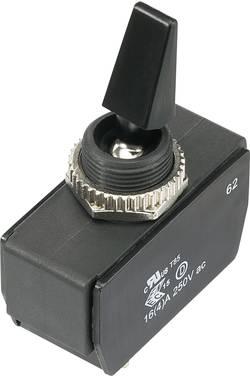 Interrupteur à levier 1 x Off/On TRU COMPONENTS TC-R13-447A3-01-HR 1588055 250 V/AC 16 A IP56 à accrochage 1 pièce