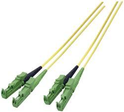 Câble de raccordement fibre optique EFB Elektronik O0933.3 [1x E2000®/APC 8° mâle - 1x E2000®/APC 8° mâle] 9/125µ Single