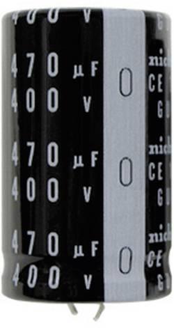 Condensateur électrolytique Snap-In 47 µF 450 V Nichicon LGU2W470MELY (Ø x L) 20 mm x 25 mm 20 % Pas: 10 mm 1 pc(s)